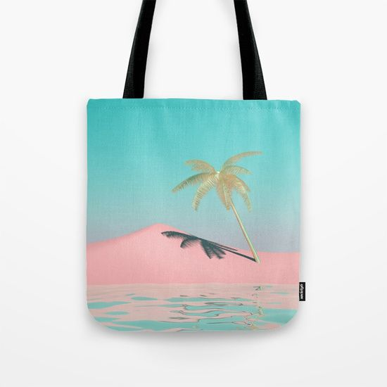 Palm Tree Oasis Tote Bag
