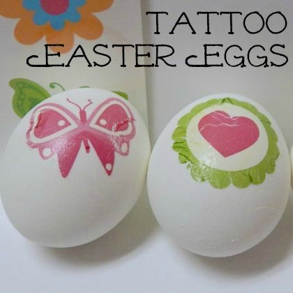 How To Decorate Easter Eggs With Tattoos