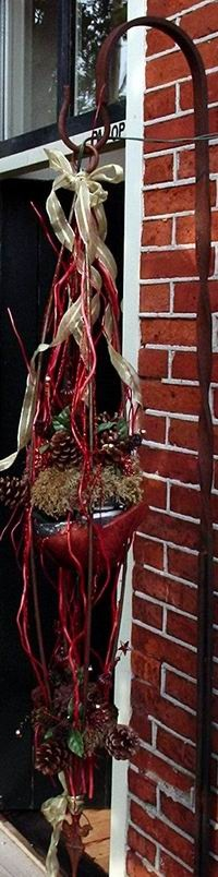 Buiten kerst versiering Hobbyatelier De Pottekijker