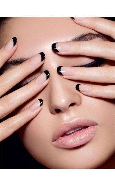 60 συγκλονιστικές ιδέες για γαλλικό μανικιούρ/ amazing french manicure ideas