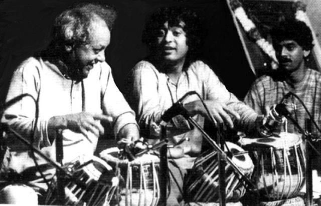 Ud. Allarakha & Ud. Zakir Hussain in concert