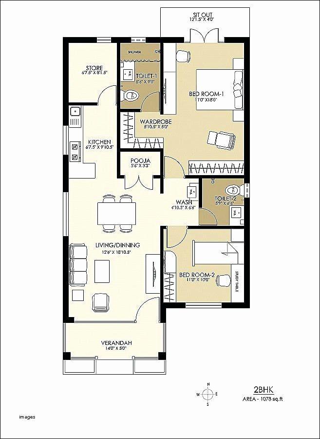 Sample Floor Plan For 2 Bedroom House Elegant 22 Luxury Sample Floor Plan With Measurements In 2020 Duplex House Plans Country Floor Plans 800 Sq Ft House