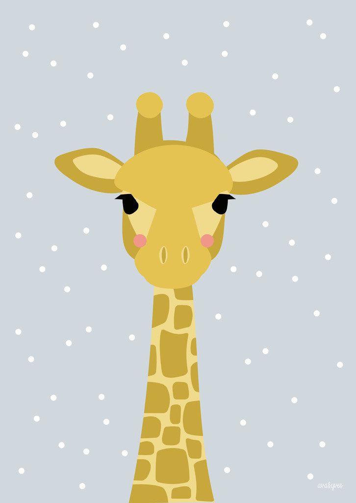 Kinderbilder fürs kinderzimmer giraffe  Die besten 25+ A giraffe Ideen auf Pinterest | Filz Giraffe ...