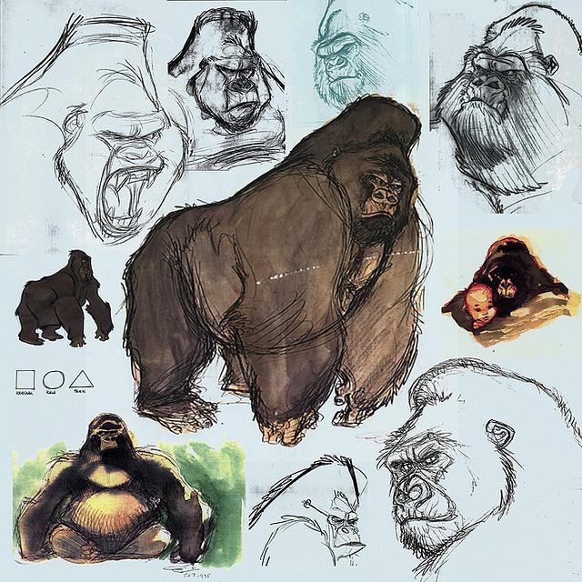 63 best images about disney 39 s tarzan on pinterest disney tarzan disney and saddest disney moments - Tarzan gorille ...