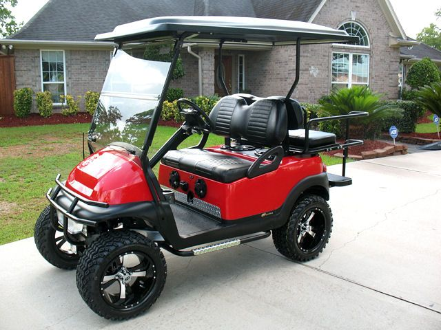 2008 Club Car Precedent custom lifted golf cart -  www.ckdgolfcarts.com