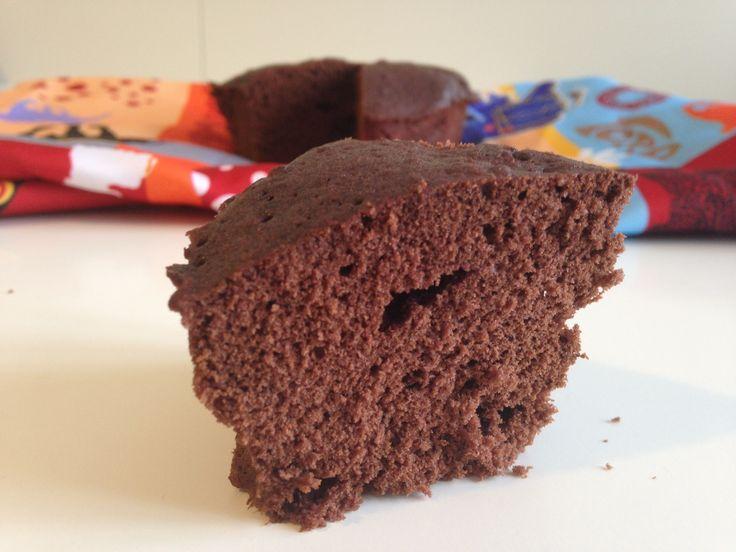 Torta al cacao al microonde (ricetta dolce)