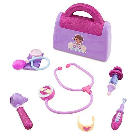 Doc McStuffins Doctor's Bag Play Set | kiddos | Pinterest Doc Mcstuffins Bag