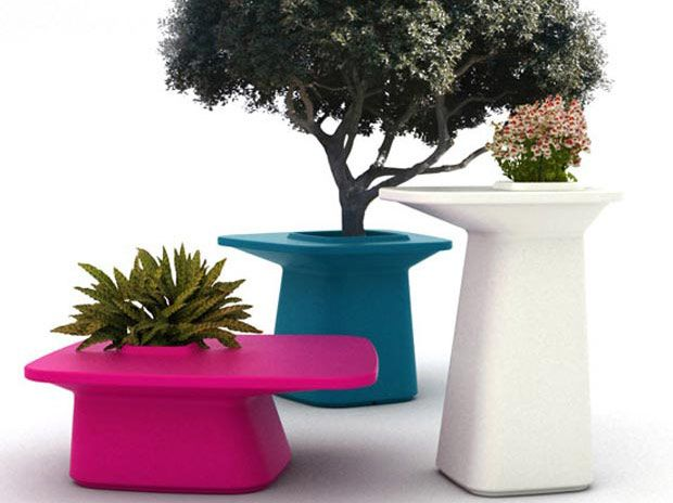 Vondom flowerpot table series