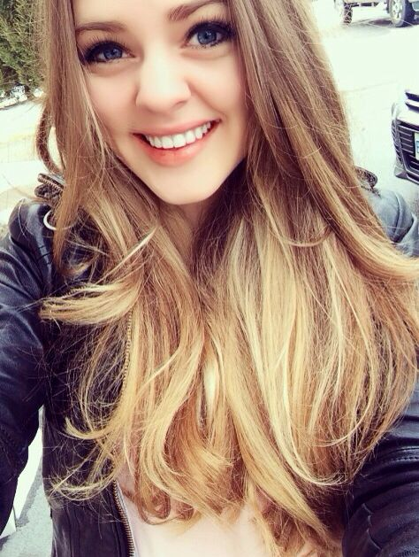 Light Brown To Blonde Ombre Sombre Been Thinking About Doing This