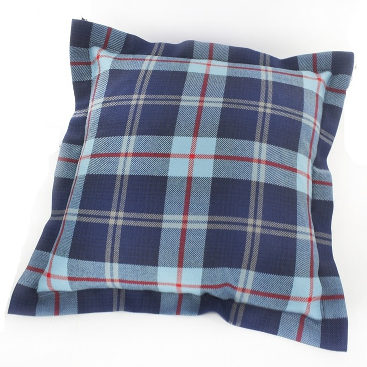 Help for Heroes Tartan Cushion