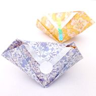 origami candy bag tutorial