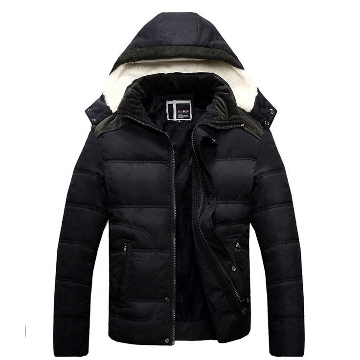 (33.12$)  Watch more here  - Brand New Winter Jacket Men Fashion Cotton Warm Parka Mens Jacket Men Parka Brand Clothing Coat Plus Size XXXL