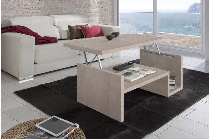 Mesa de centro elevable merkamueble muebles - Mesas de cocina extensibles merkamueble ...