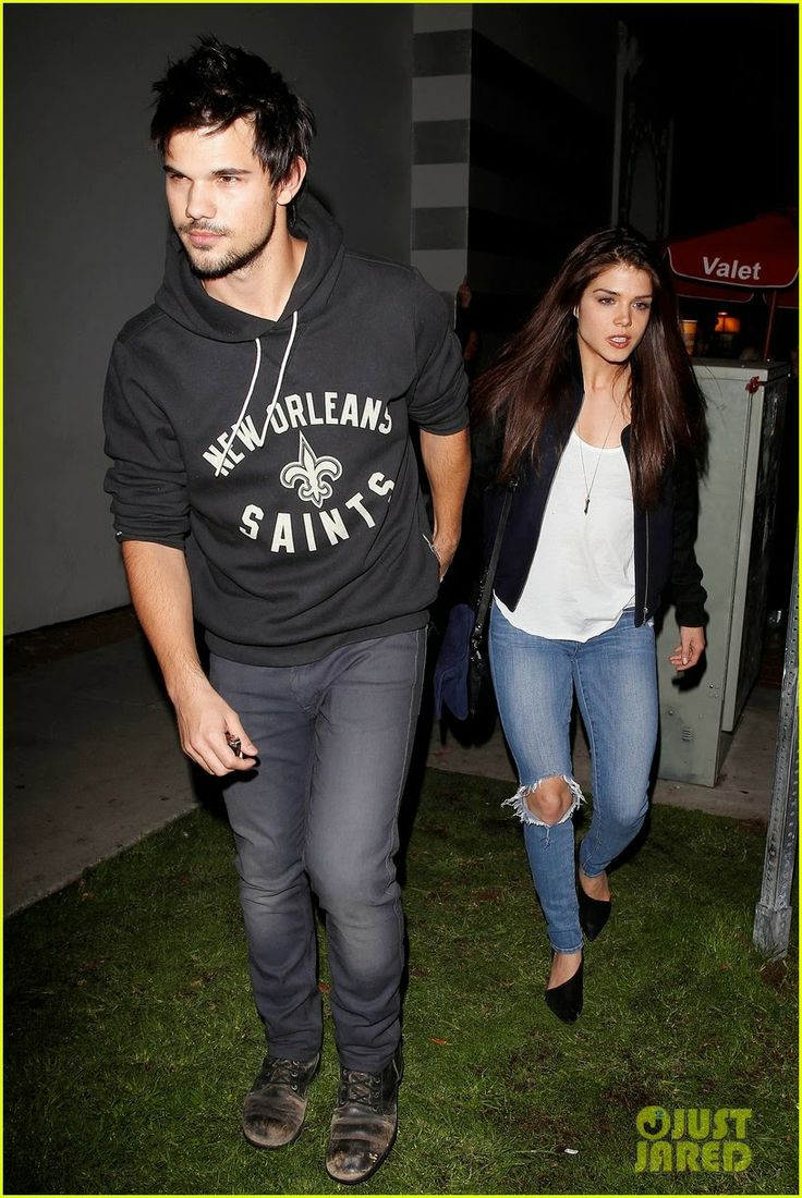Celeb Diary Taylor Lautner Amp Marie Avgeropoulos Acabar