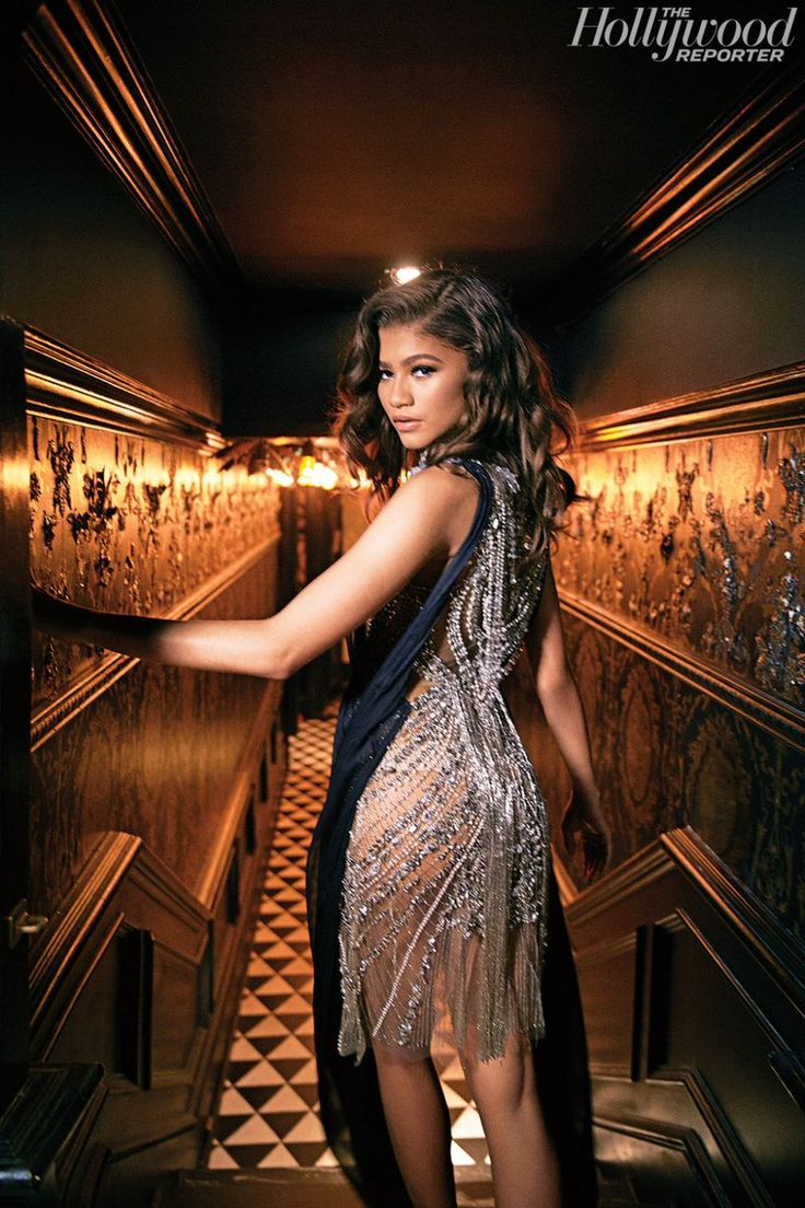Zendaya photographed by David Needleman for The Hollywood Reporter