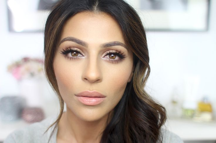 How to Highlight and Contour by Teni- Love the less dramatic contouring. Minimal is all that's needed ladies.