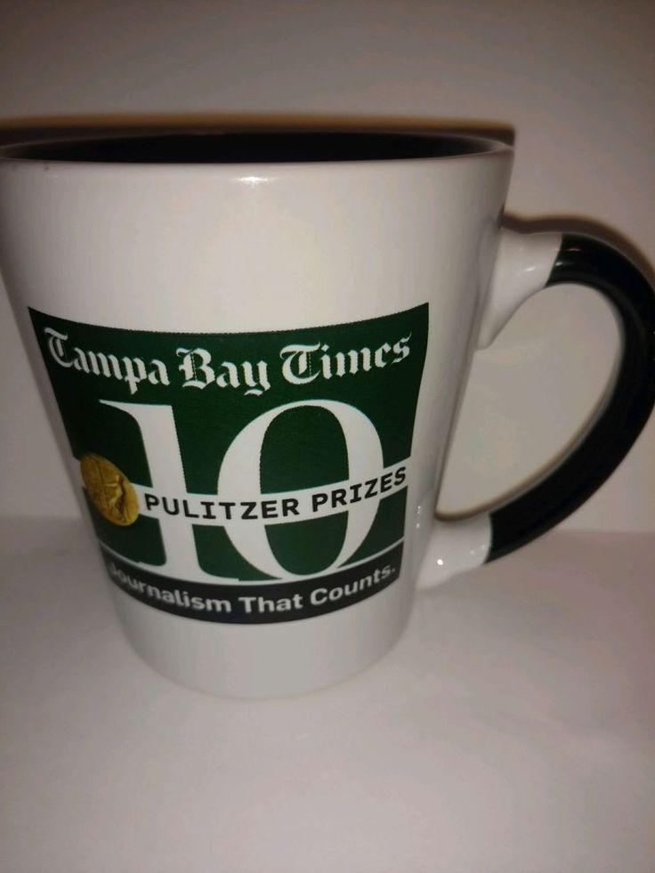 Tampa Bay Times Coffee Mug Fl Pulitzer Prize newspaper journalism that counts