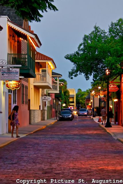 saint augustine florida   ... downtown St. Augustine, Florida   Picture St. Augustine Photography