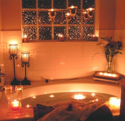 28 best images about pampering my king morris on pinterest for Bathroom romance photos