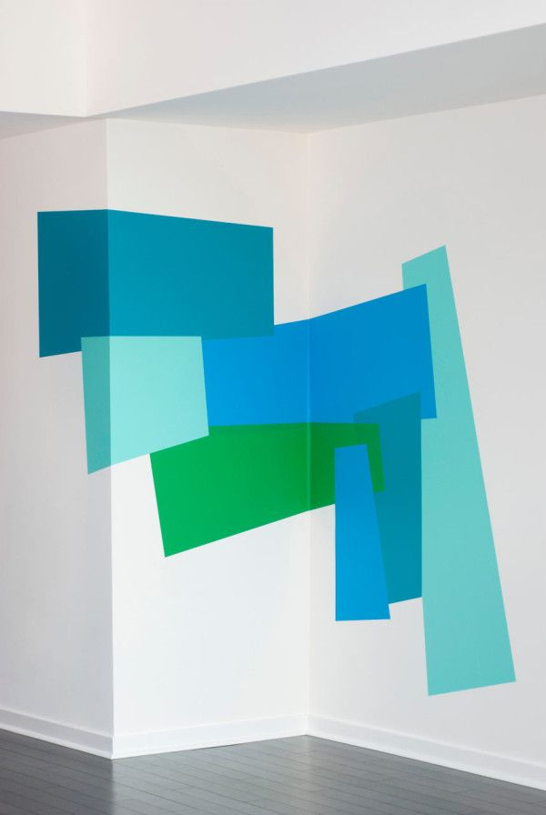 Color Blocking Wall Decals by Mina Javid for Blik in interior design home furnishings  Category