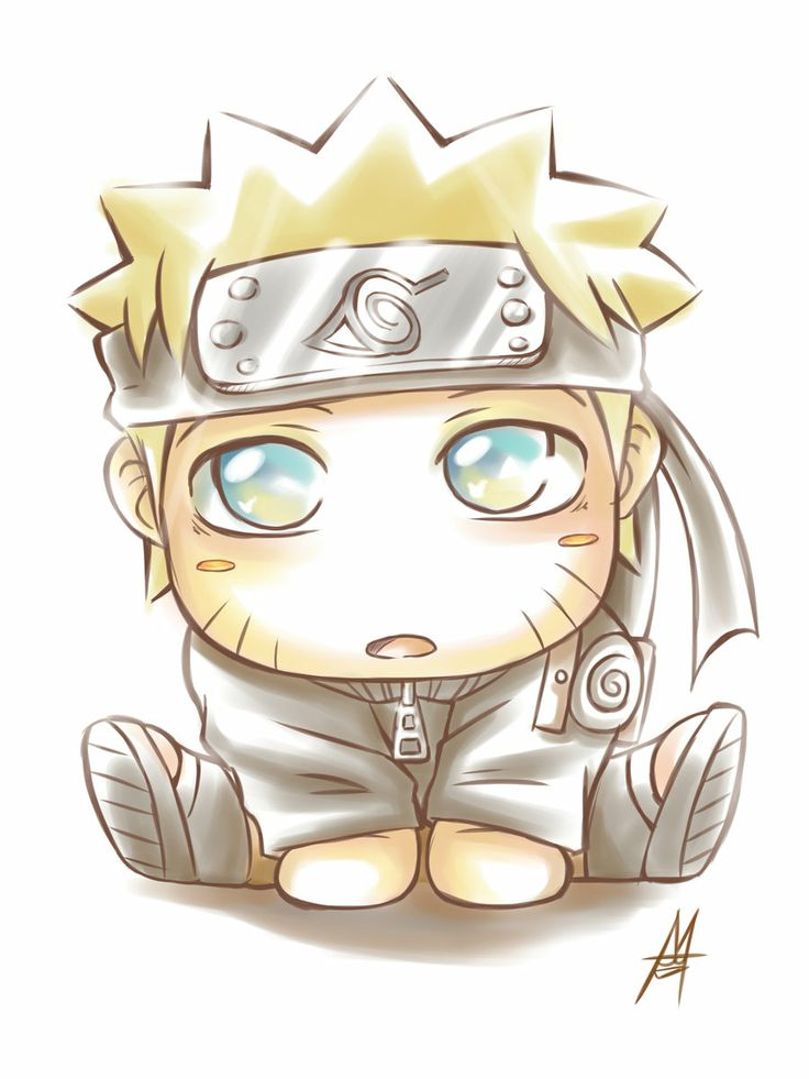 cute naruto pics | Cute Naruto by *MauroIllustrator on deviantART