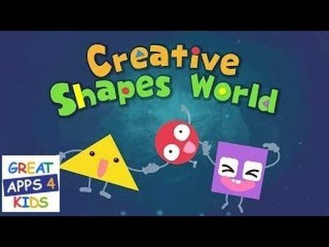 Creative Shapes World | Shapes App for Toddlers