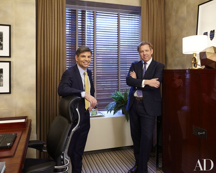 George Stephanopoulos's Office Makeover at Good Morning America Photos   Architectural Digest