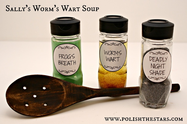 Nightmare Before Christmas: Sally's Worm's Wart Soup polishthestars.com