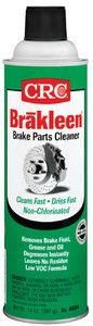 CRC BRAKLEEN Chlorine-Free Brake Parts Cleaner - Low VOC