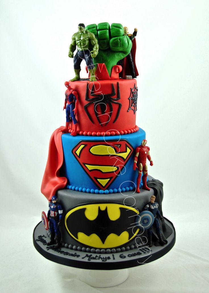 17 best superheroes cakes - gâteau super héros images on pinterest