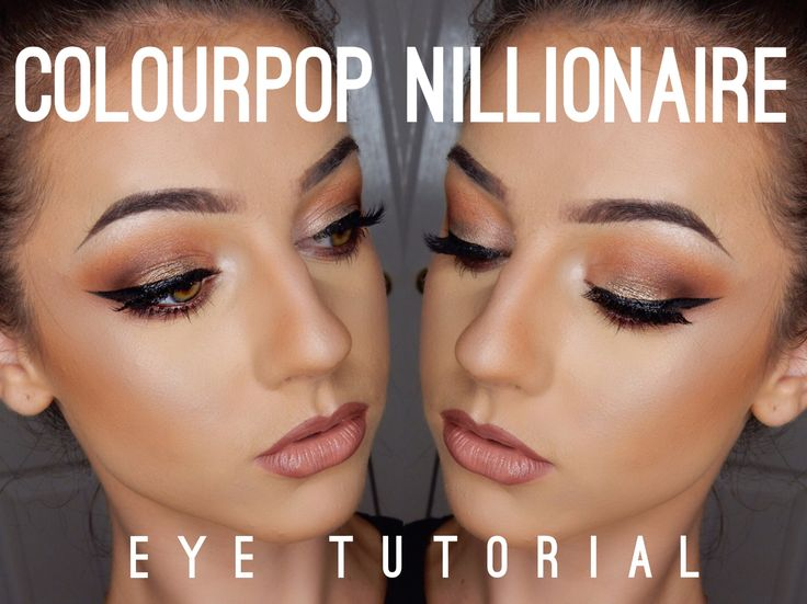 ColourPop 'Nillionaire' Eye Tutorial | Alex Niven
