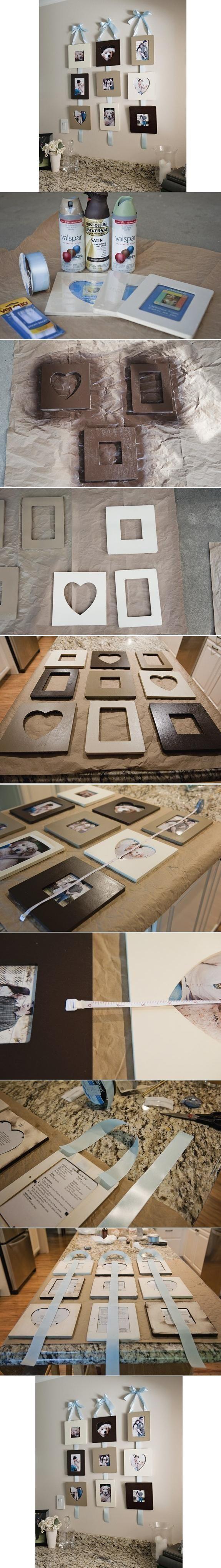 DIY Stylish Wall Photo Frame
