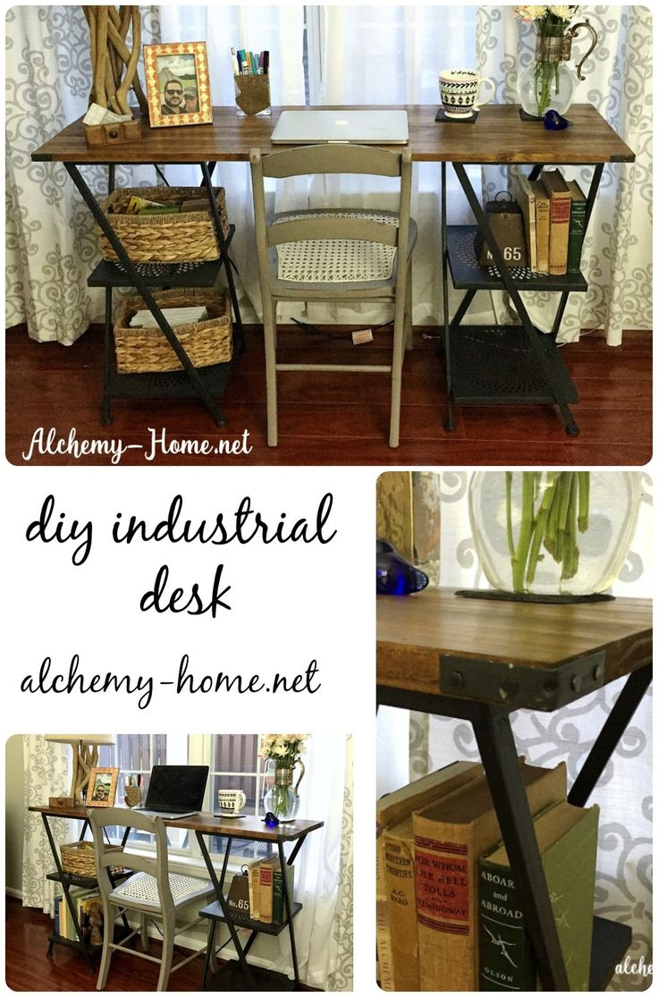 Tools needed to paint a room - Here S How I Made A Custom Sized Industrial Desk For Our Guest Room Without Using Any Power Tools