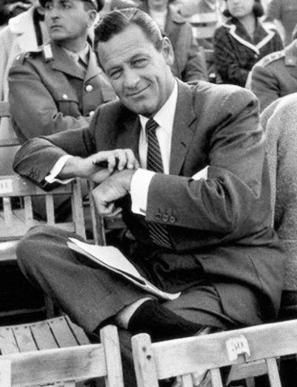 William Holden, winner of the Best Actor Oscar (Stalag 17, 1953). He appeared on the AFI's 100 Years…100 Stars list at number 25.  My mother was so in love with William Holden.