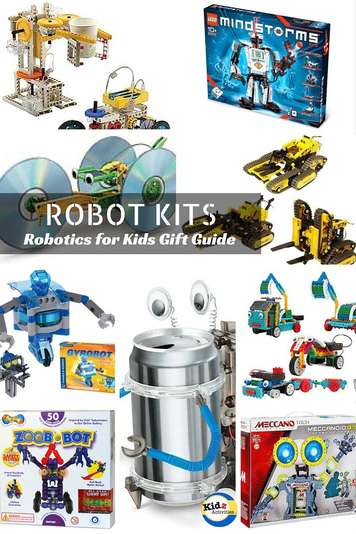 Robot Kits For Kids Kidz Activities Gift Giving Pinterest Gifts The New Snap Circuits Beginner Kit 5 And Up