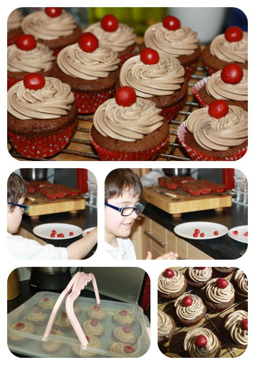 A Thrifty Mum: Red nose day cakes