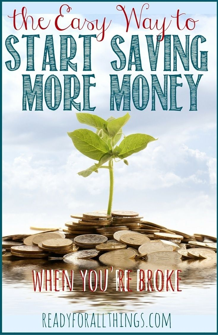 Do you think you can't afford to save and invest money? Here's a simple way to start saving & investing money no matter your financial situation.