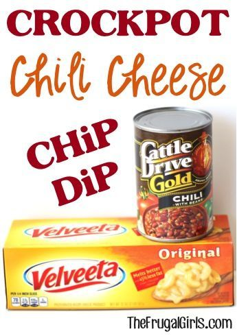 Crockpot Chili Cheese Dip Recipe! ~ from TheFrugalGirls.com ~ this delicious Slow Cooker dip couldn't be easier, and it's the perfect party-pleaser or addition to your Game Day menu! #slowcooker #dips #recipes #thefrugalgirls