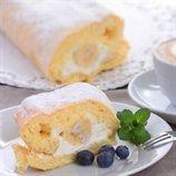 Milk tart Swiss roll | Food24