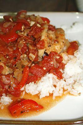 Chicken Cacciatore Recipe from Giada. Delicious!