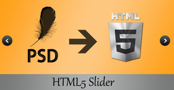 PSD to HTML5 Conversion: Adding an HTML5 Slider to a Webpage - Part 1
