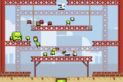 Explosive pixel action. Again, small but huge. Almost as many people are addicted to this as to caffeine. By Vlambeer. (free pc download, paid ios)