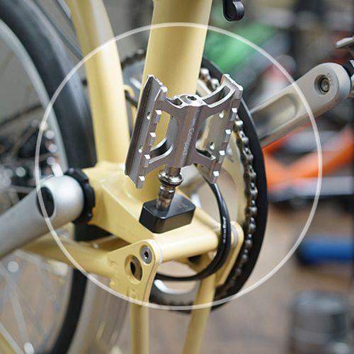 Classic  Road MKS XP-EZY Removable Pedals Folding bike MTB Urben Commute bike