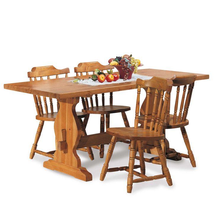 17 migliori idee su sedie per tavolo rustico su pinterest - Sedie per tavolo fratino ...