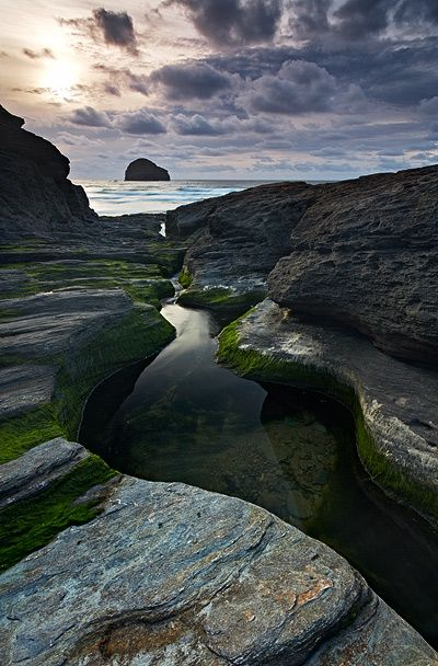 Need some photos from #Cornwall Photos for the house! - this one is #Trebarwith Strand, Cornwall