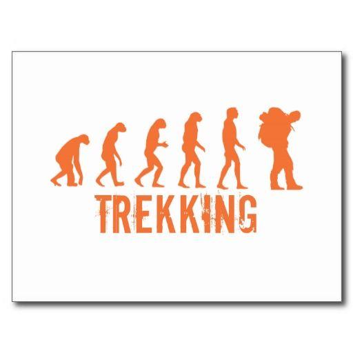 Trekking Post Cards