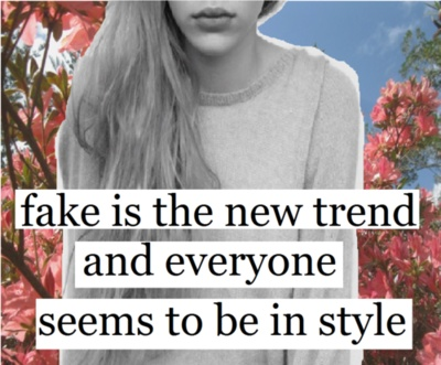 fake: In Style, New Trends, Fake Friends, Real Friends, Fake People, Fake Quotes, Inspiration Quotes, True Stories, Style Fashion