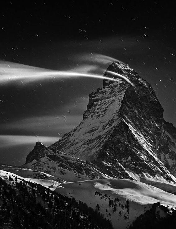 Matterhorn, Swiss Alps. Landscape Photography. #blackandwhite #bw #landscape #photography