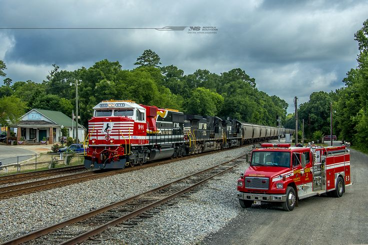 Thomas, and Percy, and Norfolk Southern...oh my! The NS 9-1-1 locomotive and NS 27 Exhibit Car will be at the N.C. Transportation Museum​ this weekend. Hope to see you all there. http://www.nctrans.org