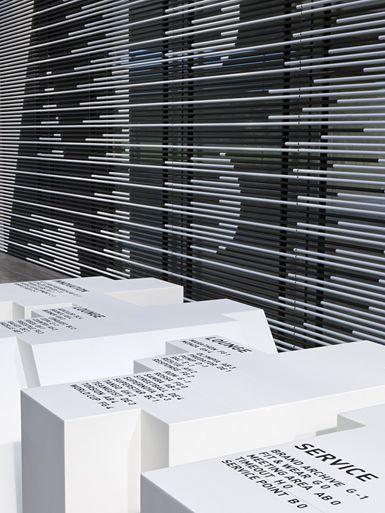 adidas laces  signage system and interior design  herzogenaurach 2011 / büro #interior ideas #home design #hotel interior design #interior house design